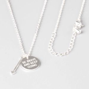 Jewelry - 4 for $25 be brave arrow necklace